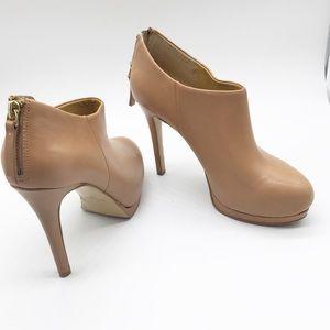 Nine West Nude Ankle Heels